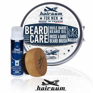 Coffret barbe cadeau hairgum